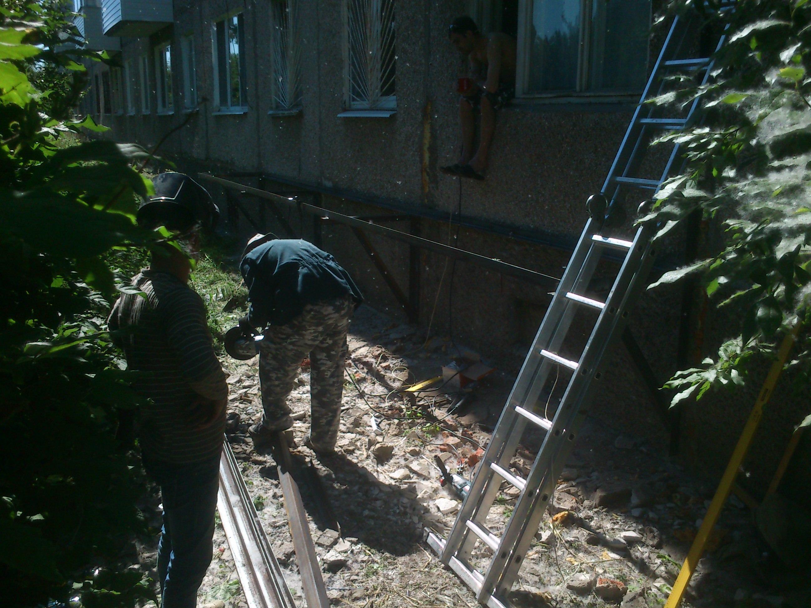 Изготовление металлических балконов