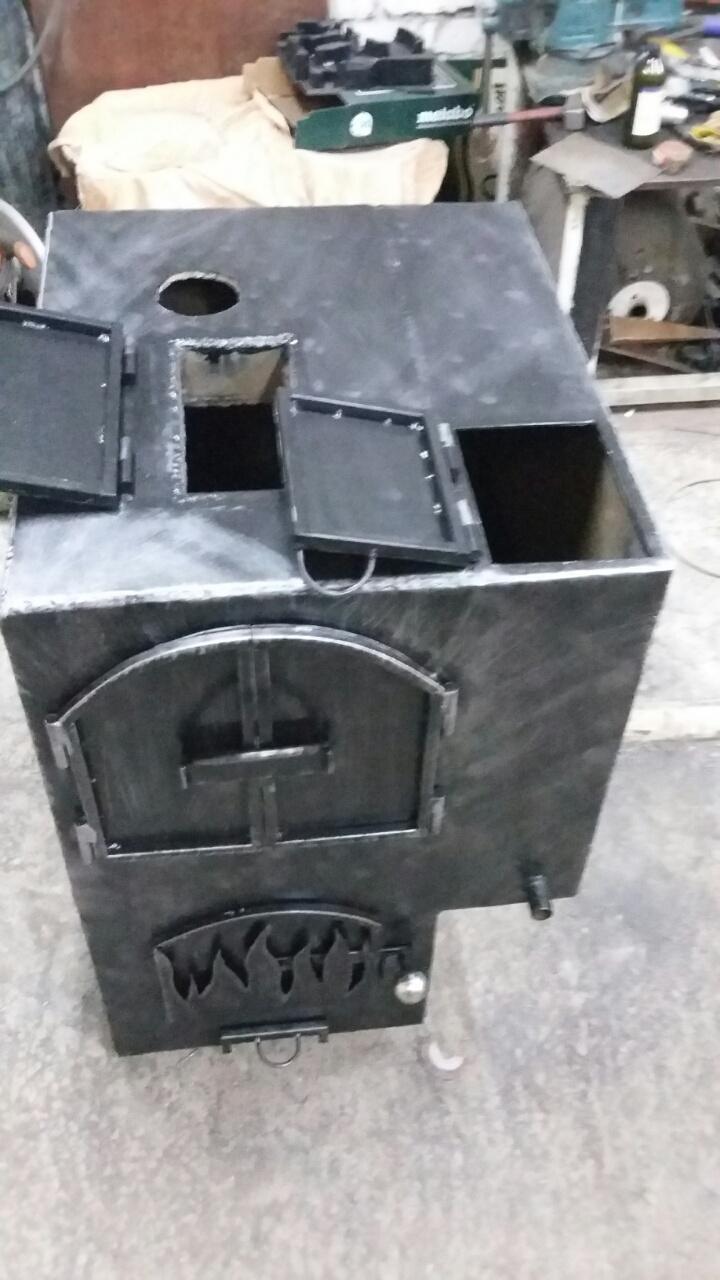 Изготовление металлических печей для бань или саун на заказ по индивидуальным размерам или проектам
